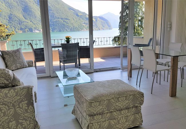 in Castagnola - Luxury with Lake View